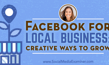 Digital Recap:  Facebook for Local Business: Creative Ways to Grow (Audio Only)